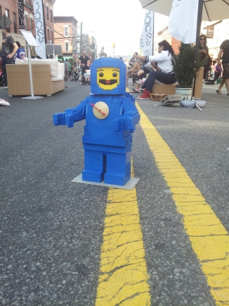 Benny takes a break from his spaceship! spaceship! spaceship! to hit up Vernon Boulevard in Queens!