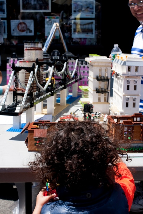 Sid's Queensboro Bridge and Victor's LEGO buildings stole the show!